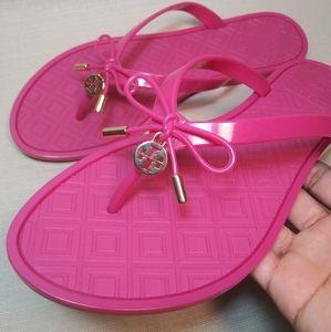 Tory Burch Flip Flops (pink)